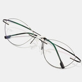 Unisex Soft Border Cat Eye Fine Border Reading Glasses