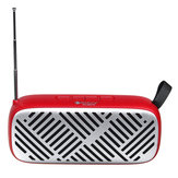 FM Radio Wireless bluetooth5.0 6W Stereo Speakers SD Card U-disk Playback Music Player