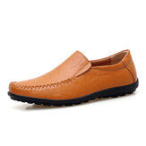 Men Business Genuine Leather Driving Loafers