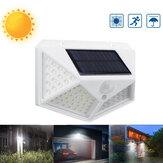 100 LED Solar PIR Motion Sensor Wall Light Outdoor Garden Yard Pathway Street Lamp