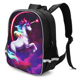Fashion Magical Rainbow Fashion School Bag Travel Rucksack Kid's Backpack Gift