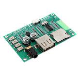 BT201 Dual Mode 5.0 Bluetooth Lossless Audio Power Amplifier Board Module TF Card U Disk Ble Spp Serial Port Transparent 5V DC