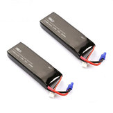 Hubsan H501S H501A H501M H501C RC Quadcopter Spare Parts 2PCS 7.4V 2700mAh 10C Original Battery H501S-14