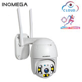 INQMEGA 1080P 360 ° PTZ 8 LED Waterproof IP Camera H.264 HD Versi Malam Motion-Detection Home WIFI Kamera Monitor Bayi