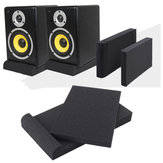 2PCS Sponge Sound Studio Monitor Speaker Acoustic Isolation Foam Isolator Pads