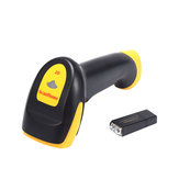 ScanHome SH-4100 Wireless Handheld 1D/2D/QR Codes Barcode Scanner with USB RS232 Interface for Restaurants Shops Supermarkets