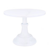 10 Inch Revolving Cake Stand Pedestal White Dessert Holder Wedding Birthday Party Decor
