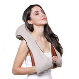 24W Kneading Shawl Massager Wasit Shoulder Cervical Neck Electric Vibration Cushion Massager