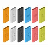 Bakeey Antikras Soft siliconen beschermhoes voor Xiaomi 10000mAh Power Bank 3 niet-origineel