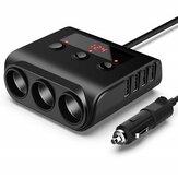 USLION100W3.1ATrestikkontakterFire USB-port Digital skjerm hurtigladende billaderadapter for iPhone XS 11Pro Huawei P30 Pro Mate 30 5G Xiaomi 9Pro Mi10 Redmi K30 S20 5G