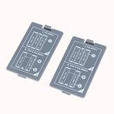 2 stks batterij achterkant voor MDS8207 digitale oscilloscoop batterijcompartiment Cover