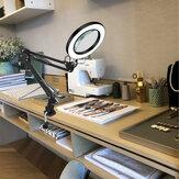 5X iluminado lupa usb 3 cores LED lupa para Solda reparação de ferro / candeeiro de mesa / skincare beleza ferramenta