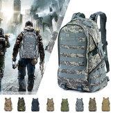 45L Wasserdichte Camping Wandern Tasche Armee Militärische Taktische Rucksack Sport Reisetasche