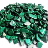100g Natural Tumbled Malachite Stones Gemstones Reiki Polished Healing Decorations