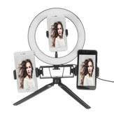 8.7/12.6 Inch LED Video Ring Light with Stand 3 Phone Holder Dimmable Lamp Make-up Youtube