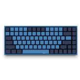 AKKO 3084 SP Ocean Star 84 Keys Mechanical Gaming Keyboard PBT Keycap Cherry Switch USB 2.0 Type-C Wired Side Letter Caverd Design Gaming Keyboard