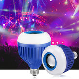Altoparlanti Bluetooth wireless E27 RGB Smart LED Lampadine Lampade musicali + remoto Controllo AC110-220V