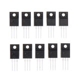 10pcs FQPF10N60C TO-220 10N60 TO220 10N60C 10A 600V MOSFET N-Channel IC