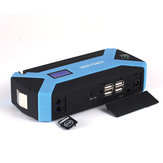 Draagbare 89800 mAh 12V Auto Jump Starter Multifunctioneel pakket Booster Batterijlader 4 USB Emergency Power Bank