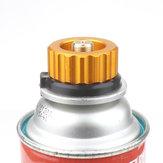 IPRee® cámping Picnic Estufa Convertidor Adaptador de botella de gas Quemador Tanque Conector