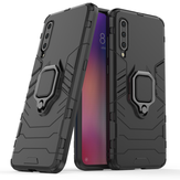 Bakeey Armor Magnetic Card Holder Shockproof Protective Case For Xiaomi Mi 9 / Mi9 Transparent Edition