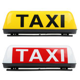 38cm Universal TAXI Cab Roof Sign Top Topper Waterproof Car Magnetic Sign Lamp Light Shell
