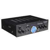 AV-505AT 110-220V bluetooth Rumah Power Amplifier Audio Stereo AMP Mixer USB FM