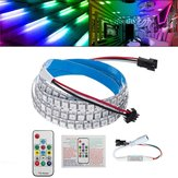 2M IP20 Built-In IC WS282B 5050 RGB 288 LED Strip Light With 14Keys Remote Control KTV Hotel Bar Stair DC5V
