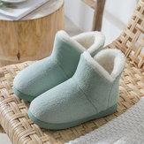 Bottes antidérapantes confortables pour chaussures de maison chaudes Soft