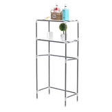 Storage Rack Over Toilet/Bathroom/Laundry/Washing Machine Shelf Unit Organizer Shelf Rack