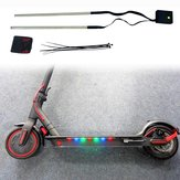 BIKIGHT Colorful Striplicht voor M365/Pro Elektrische scooter 3 standen Scooter chassislicht Nacht LED-striplicht