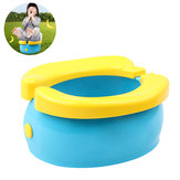 Portable Baby Kids Folding Potty Seat Pot Emergency Urinal Toilet Outdoor Travel