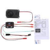 HG P408 1/10 Sistem Suara Mesin + Horn Speaker Suku Cadang Mobil RC HG-RX1017