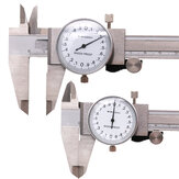 Metric Gauge Measuring Tool Dial Caliper 0-150mm/0.02mm Shock-proof Stainless Steel Precision Vernier Caliper