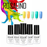ROSALIND Gel Barniz Color puro UV Gel Uña Polaco