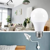 AC220-240V E27 15W 2835 No Flicker Warm White LED Globe Spotlight Bulb for Bedroom Living Room Home Decor