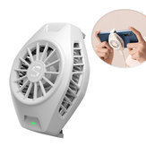 Original Xiaomi Cool Cooling Fan Back Clip Type-C Bass Operation Mini Radiation Device Pour Xiaomi 10 Pro pour iPhone Huawei Sumsung Mobile Phone