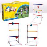 Light-Up Ladder Ball Toss Set met 8 ballen Outdoor achtertuin gazon gooien speelgoed