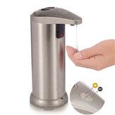 250ml自動液体石鹸ディスペンサーセンサー非接触ステンレス鋼ハンドソープボトルディスペンサーキッチンバスルーム用