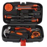 Kit de combinación para el hogar de 9 piezas, juego de regalo, caja de herramientas de hardware, herramienta de mano de aplicación amplia, kit general herramientas para el hogar