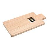 Business Wooden U Disk Card USB 2.0 Flash Drive Memory Stick Pen Thumb Drive 32GB