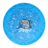 170cm Summer Inflatable Water Play Mat Beach Play Toys Sprinkler Pad Kids Wading Toys