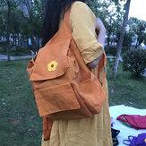 Exterior Nylon Escuela Bolsa Hombro de viaje portátil con mochila para niña Bolsa