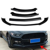 Für Ford Mustang 2015-2017 Gloss Black Auto Frontstoßstange Unter Diffusor Protector Schaufel Lip Spoiler Kits