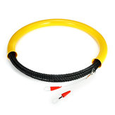 10/15/20/25/30M 6.5mm Wire Conduit Cable Push Puller Rodder Elasticity Polyester Snake Fish Tape Threading Device