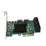 SSU SA3008 PCI - E to SATA 3.0 Expansion Card With Eight Port SSD Adapter Card IPFS