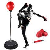 120-150cm Adjustable Boxing Training Target Freestanding Punch Bag Adults Boxing Back Base Gloves Pump