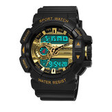 SANDA 599 Men Multi-function Dual Disaplay Digital Watch