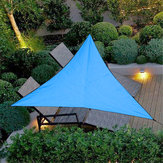3m Triangular Impermeable Carpa Sombrilla Jardín Patio Toldo Toldo Refugio solar