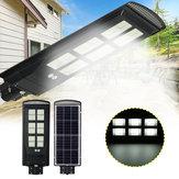 3800W 1152 LED Luz de rua solar Motion Sensor Lâmpada de parede para jardim ao ar livre + Remoto
